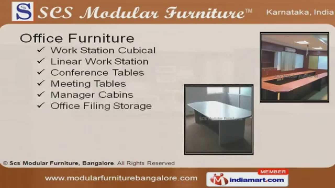 Office Furniture By Scs Modular Furniture, Bangalore