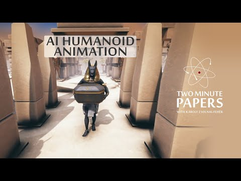 This AI Learned To Animate Humanoids🚶