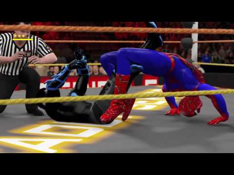 FWF Deadly Series 5 Pt9: Nightwing vs Spiderman (C)