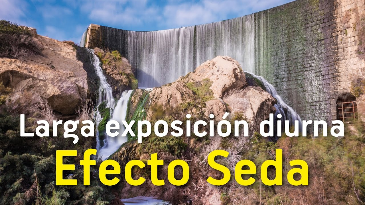 Larga Exposicion Diurna Efecto Seda En Agua Youtube