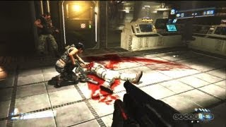 Abandon Ship - Aliens: Colonial Marines Gameplay (Xbox 360)