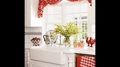 Creative kitchen curtain ideas