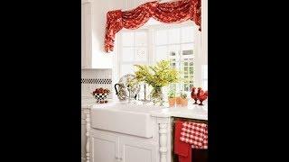 Creative kitchen curtain ideas
