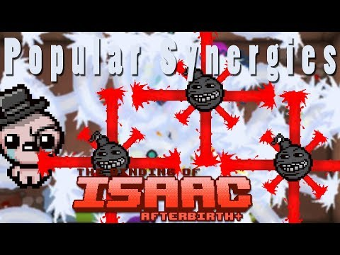 The Binding of Isaac Afterbirth Plus | Trisagion Bombs | Popular Synergies