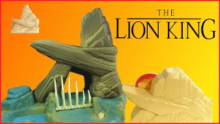 Review of 3 Different Lion King Playsets by Mattel (1994)