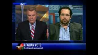 CTV News Channel Interview - Early results show Karzai leading tight race (25 August 2009)
