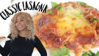 CLASSIC LASAGNA WITH MEAT SAUCE | Easy Recipe (NEW)
