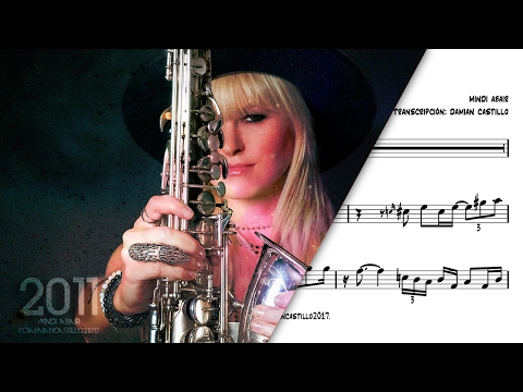"""Imagine - Mindi Abair"" - 🎷Sax Alto transcription🎷"