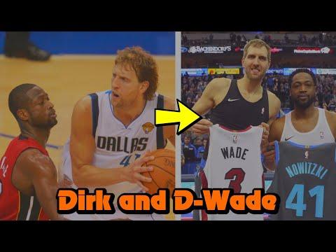 The INTENSE History Between Dirk Nowitzki and Dwyane Wade