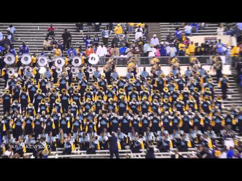 Southern University Marching Band - Can You Stand The Rain - 2014