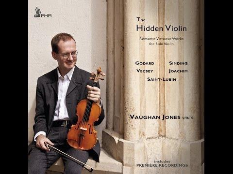 THE HIDDEN VIOLIN - Vaughan Jones GODARD - VECSEY - SAINT-LUBIN - JOACHIM (FHR29)