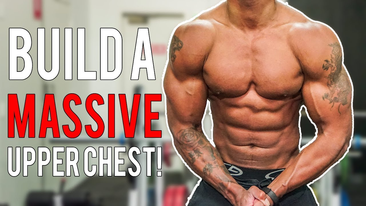 How To Build A MASSIVE Upper Inner Chest Best Exercises