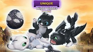 Night Lights - New Unique Dragons Titan Mode Max Level 134 | Dragons: Rise of Berk (Update 1.40.13)