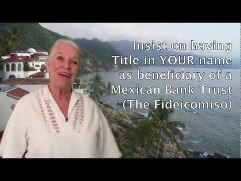 Owning Property In Mexico - Ley De Fideicomiso
