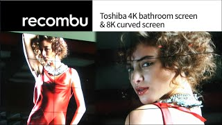 IFA 2014: Toshiba 4K U-series preview with curved UHD concept screen & 8K mega display