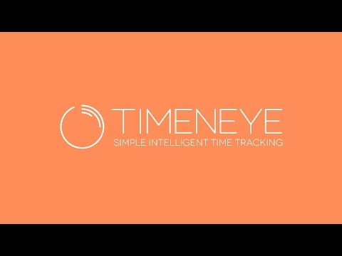 Timeneye - Simple intelligent time tracking software