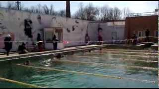 Чемпионат ЮВО - плавание с автоматом 100 м