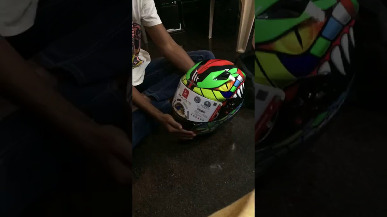 Unboxing Mt Mugello Viper Helmet Time Lapse Youtube