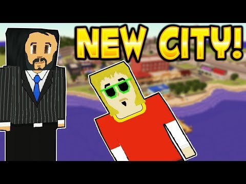 NEW HUGE CITY! - Voxel Turf Multiplayer Gameplay - New Game Mode! USER CREATIONS! (Kid Friendly!)