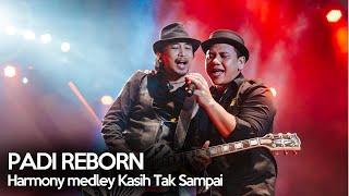 Padi Reborn - Harmony Medley Kasih Tak Sampai live at Dare to Rock 2018