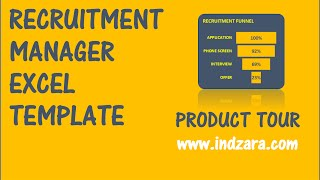Recruitment manager excel template v1 if you are in a recruiting team responsible for hiring your organization, or freelance recruiter, can ...