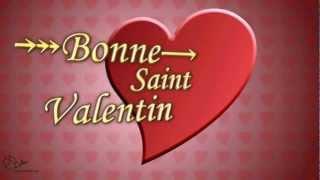 Carte Virtuelle - Bonne Saint Valentin