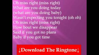 Ne-Yo - Miss Right Lyrics