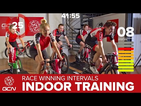Race Winning Intervals Workout - Indoor Cycle Training
