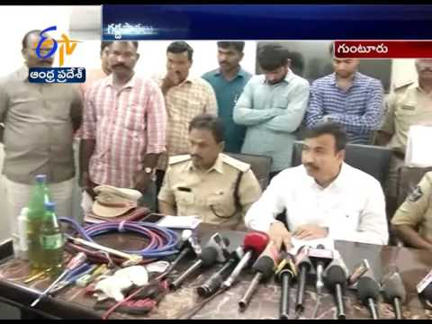 Police Arrested Two ATM Thieves | Guntur