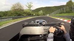 Nurburgring Lap in Westfield V8 - 8 mins (plus traffic!)