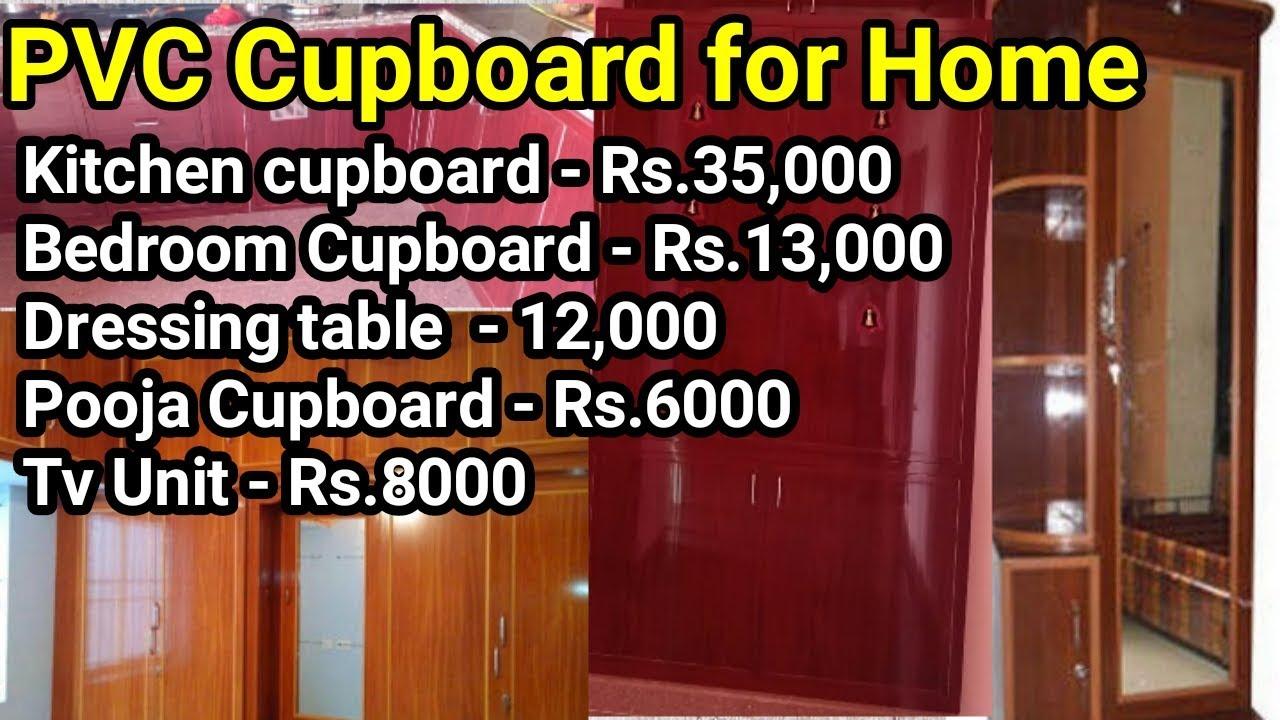 Kitchen Cabinet Full Home Pvc Cupboard Tamil Kitchen Interiordesign Cupboards Youtube