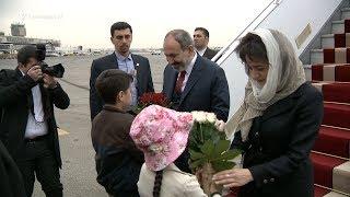 Նիկոլ Փաշինյանը տիկնոջ՝ Աննա Հակոբյանի հետ ժամանել է Իրան