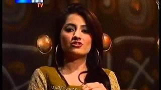 Uroosa Qureshi Tahir Arain fight - Sindh tv