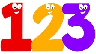 Number Song | Numbers Counting 1 to 10 | Learn Numbers For Kids | Kindergarten Nursery Rhyme