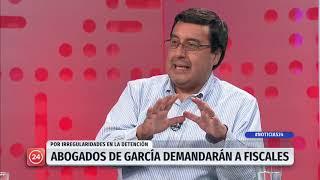 Abogados de García demandarán a Fiscales por irregularidades en la detención