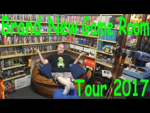 Brand New Official Room Tour 2017 ENTIRELY NEW GAME ROOM! 5k Sub Special!
