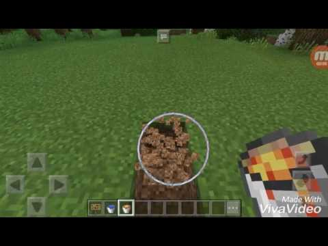 how to find lava in minecraft pe