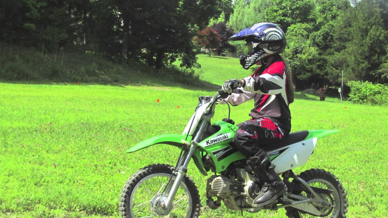 klx 125 and klx 110 dirtbike training - youtube