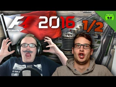 BOXENGASSE DES TODES | Bahrain 1/2 🎮 F1 2016 #17