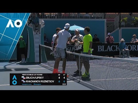 Erlich/Lipsky v Khachanov/Kuznetsov match highlights (1R) | Australian Open 2017