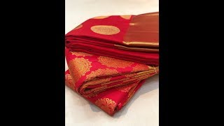 Bridal Wedding Kanjivaram Silk Sarees Online Shopping