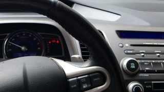 Honda Civic 1,8 AT шум двигателя видео 1.