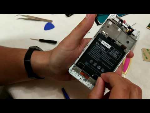 Замена дисплея Redmi 4A (часть 1)