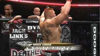 XBOX 360 - UFC Undisputed 3 - Brock Lesnar vs. Frank Mir