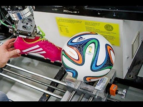 adidas Brazuca World Cup 2014 ball  Test