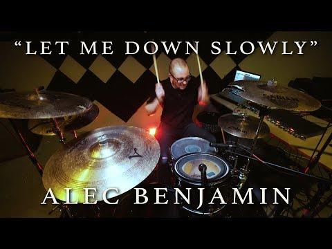 Let Me Down Slowly (Fairlane Remix) - Alec Benjamin   Jeremy Shields DRUM COVER