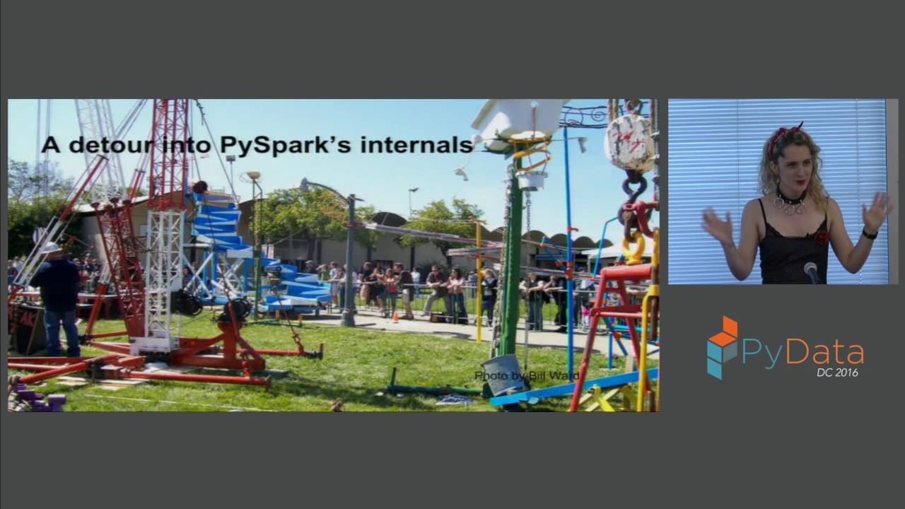 Image from Improving PySpark Performance Spark performance beyond the JVM