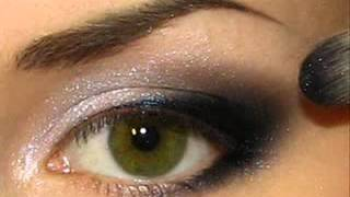 видео Вечерний макияж для зеленых глаз фото поэтапно