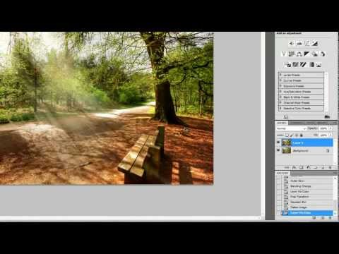 how to create sun rays in photoshop cc 2015