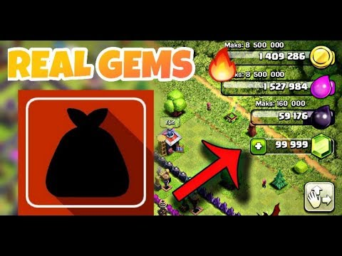 How To Get Free Clash of Clans GEMS With The Uses Of Only One APP